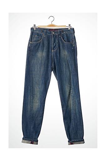 Jeans boyfriend bleu WAS pour femme