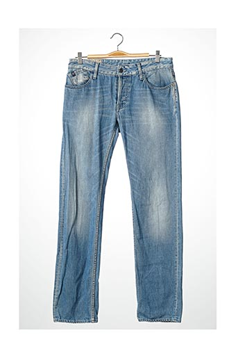 Jeans coupe droite bleu JAPAN RAGS pour homme