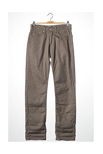Jeans coupe droite gris LEVIS pour homme