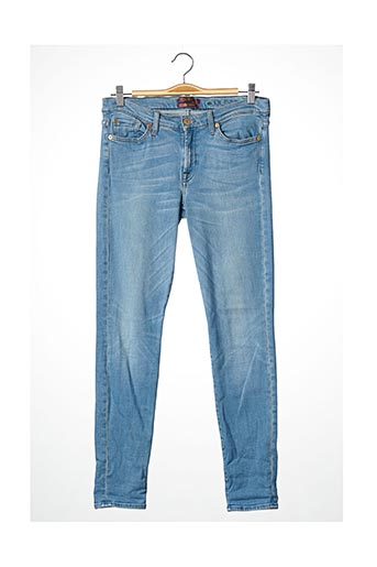 Jeans coupe slim bleu FOR ALL MANKIND pour femme