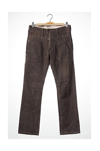 Pantalon casual marron NEIL BARRETT pour femme
