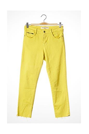 Pantalon casual vert COMPTOIR DES COTONNIERS pour femme