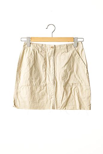 Jupe courte beige ANNE MARIE BERETTA pour femme