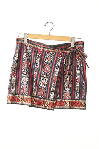 Jupe courte rouge ISABEL MARANT pour femme