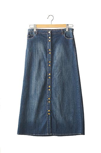 Jupe longue bleu ACQUAVERDE pour femme