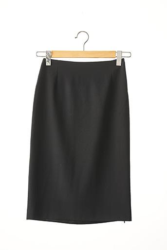 Jupe mi-longue noir APARA pour femme