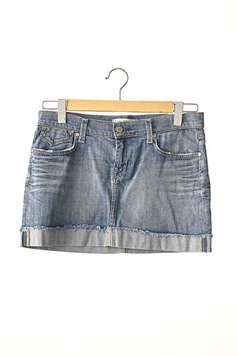Mini-jupe bleu TARA JARMON pour femme