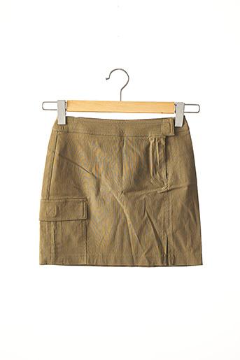 Mini-jupe vert MORGAN pour femme
