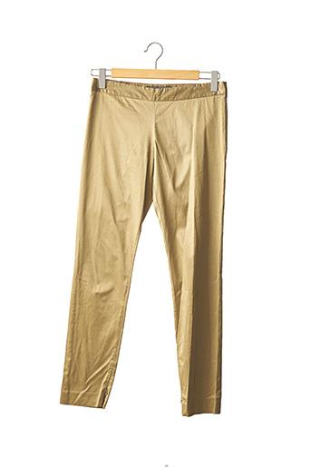 Pantalon 7/8 beige BY MALENE BIRGER pour femme