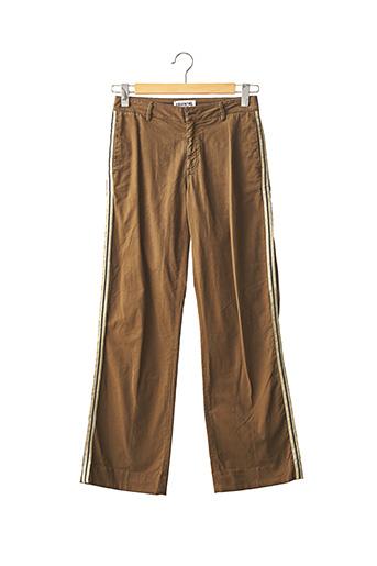 Pantalon chic marron ESSENTIEL ANTWERP pour femme