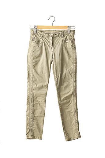 Pantalon casual vert SANS MARQUE pour femme