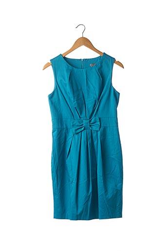 Robe courte bleu ET VOUS pour femme