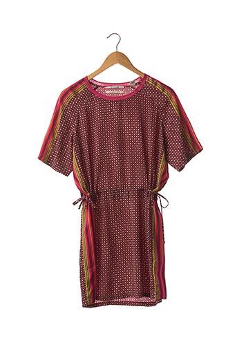 Robe courte rouge MAISON SCOTCH pour femme