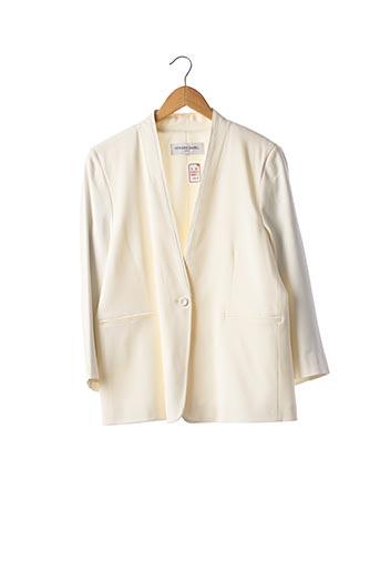 Veste chic / Blazer blanc GERARD DAREL pour femme