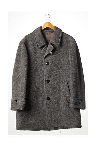 Manteau long gris ADLER pour femme