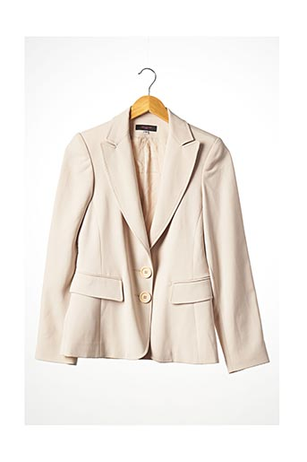 Veste chic / Blazer beige BRIGHTON pour femme