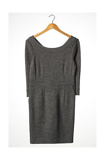 Robe courte gris BRUUNS BAZAAR pour femme