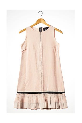 Robe courte rose DOLCE & GABBANA pour femme