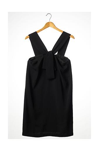 Robe mi-longue noir APRIL MAY pour femme