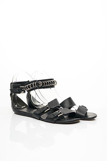 Sandales/Nu pieds noir BARBARA BUI pour femme