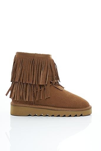 Bottines/Boots marron COLORS OF CALIFORNIA pour femme