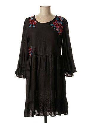 Robe courte noir COLINE pour femme