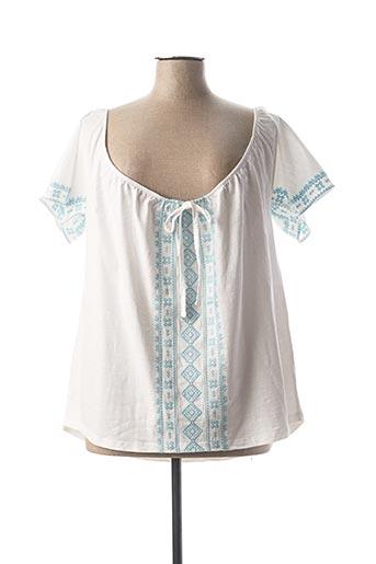 T-shirt manches longues blanc LE PETIT BAIGNEUR pour femme