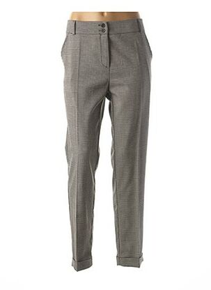 Pantalon 7/8 gris TELMAIL pour femme