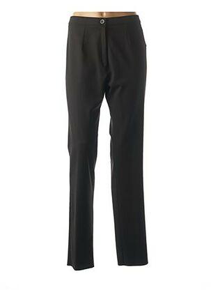 Pantalon chic noir GRIFFON pour femme