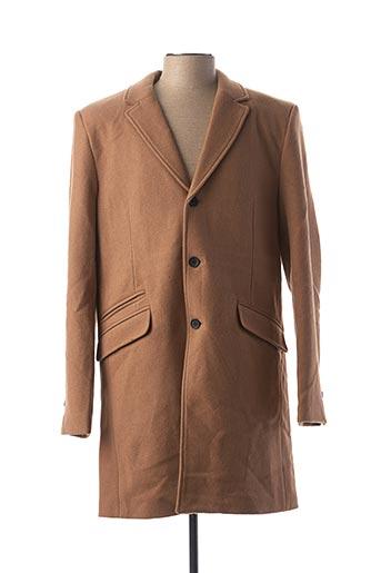 Manteau long marron ONLY&SONS pour homme