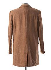 Manteau long marron ONLY&SONS pour homme seconde vue