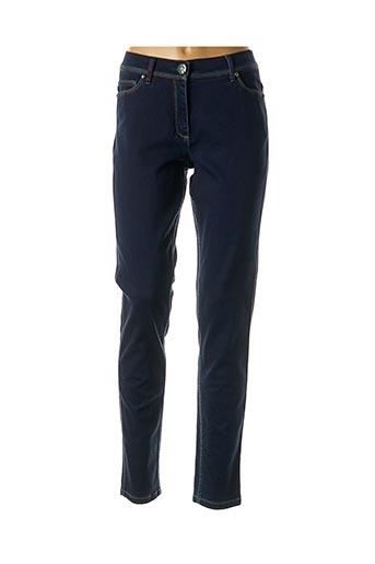 Jeans coupe slim bleu CAROLINE BISS pour femme