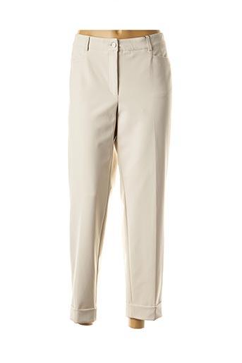 Pantalon 7/8 beige CAMBIO pour femme