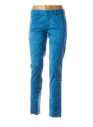 Pantalon casual bleu SPORTALM pour femme