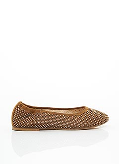 Ballerines marron FRU.IT pour femme