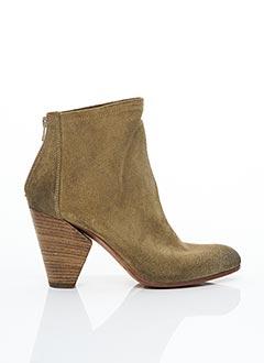 Bottines/Boots vert STRATEGIA pour femme