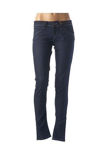 Pantalon casual bleu FIVE PM pour femme