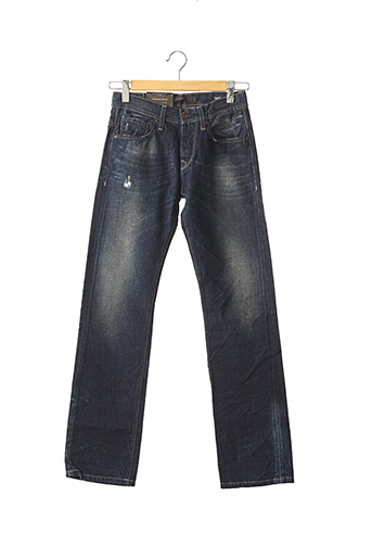 Jeans coupe droite bleu SALSA pour homme