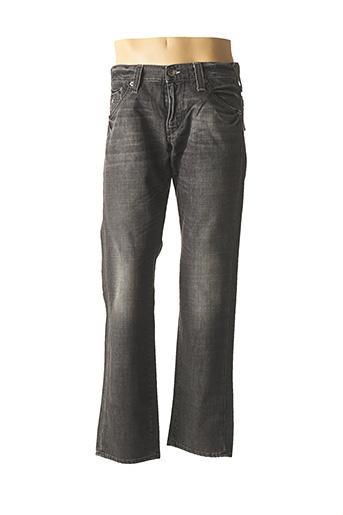 Jeans coupe droite noir ENERGIE pour homme