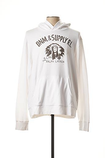 Sweat-shirt blanc RALPH LAUREN pour homme