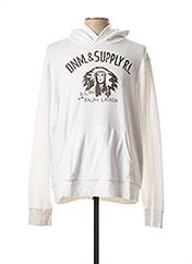 Sweat-shirt blanc RALPH LAUREN pour homme seconde vue