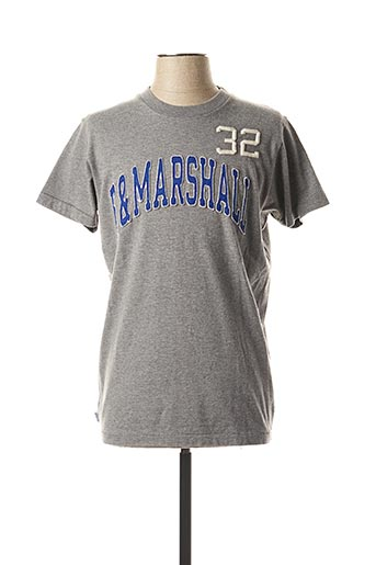 T-shirt manches courtes gris FRANKLIN MARSHALL pour homme
