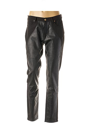 Pantalon casual noir CRISTINA BARROS pour femme