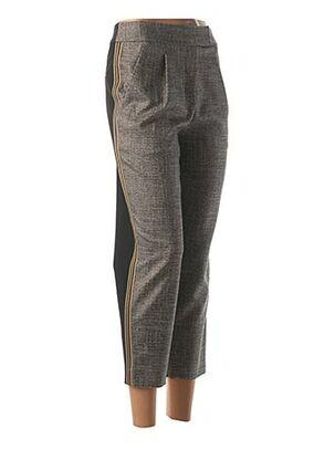 Pantalon casual beige COP COPINE pour femme