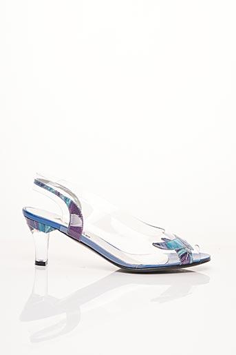 Sandales/Nu pieds bleu AZUREE pour femme