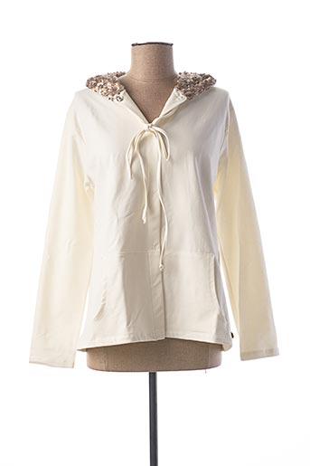 Veste casual beige LE BOUDOIR D'EDOUARD pour femme