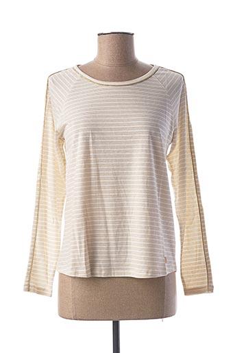 T-shirt manches longues blanc LE BOUDOIR D'EDOUARD pour femme