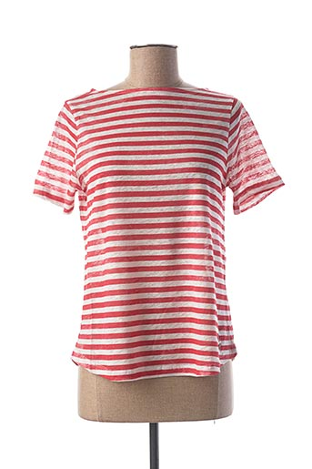 T-shirt manches courtes rouge LE BOUDOIR D'EDOUARD pour femme