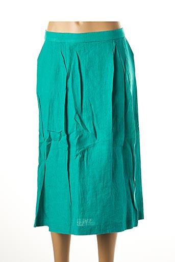 Jupe mi-longue vert LE BOUDOIR D'EDOUARD pour femme