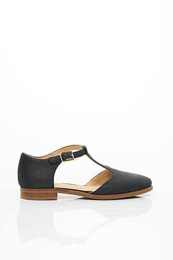 Sandales/Nu pieds bleu CLARKS pour fille